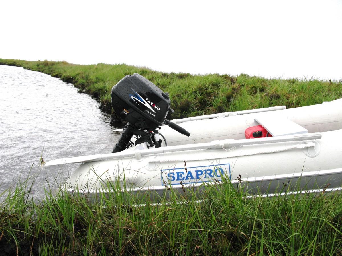 5hp Parsun 4 Stroke Outboard Motor