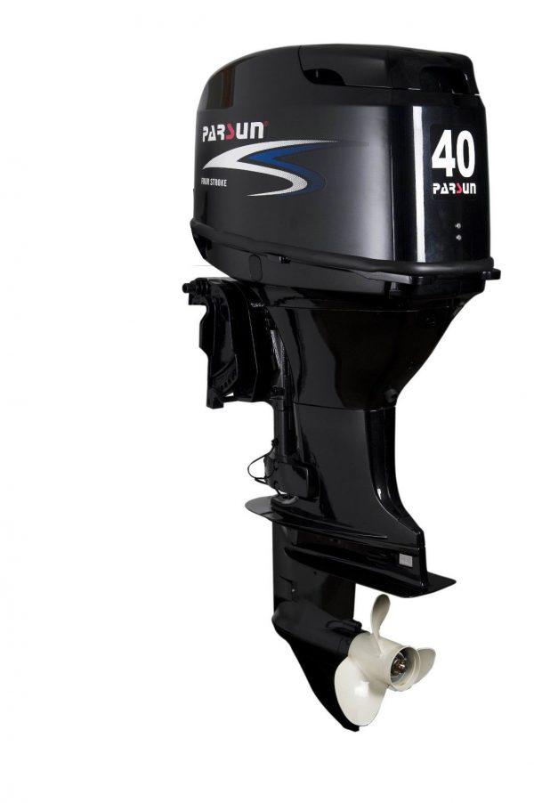 Parsun 40hp 4 Stroke Outboard Motor Electric, Remote, Power Tilt Long Shaft