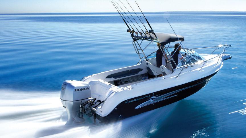 Honda 200HP 4 Stroke Outboard Motor Electric, Remote, Power Tilt -  Long/Extra Long Shaft