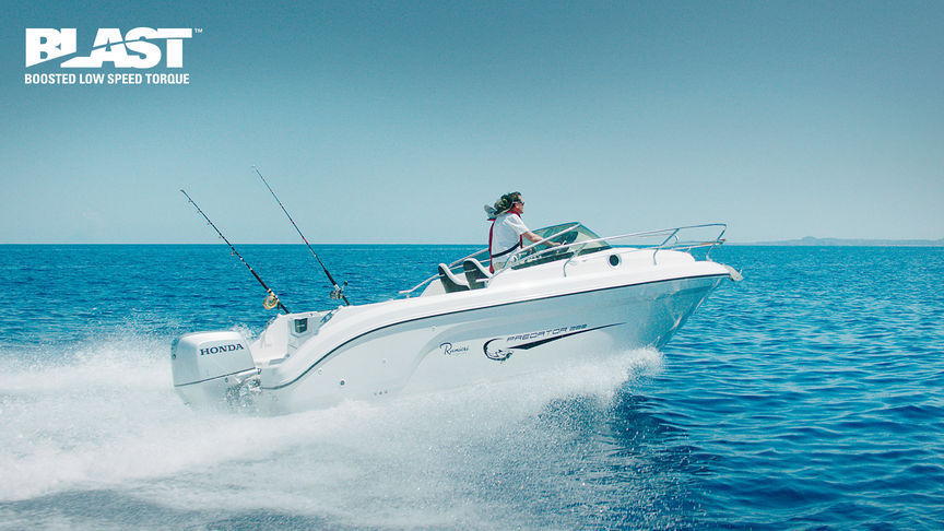 Honda 225HP 4 Stroke Outboard Motor Electric, Remote, Power Tilt - Ultra  Long Shaft