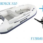 Quicksilver 320A and Parsun F15BMS