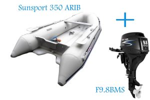 Sunsport 350 ARIB and Parsun 9.8BMS