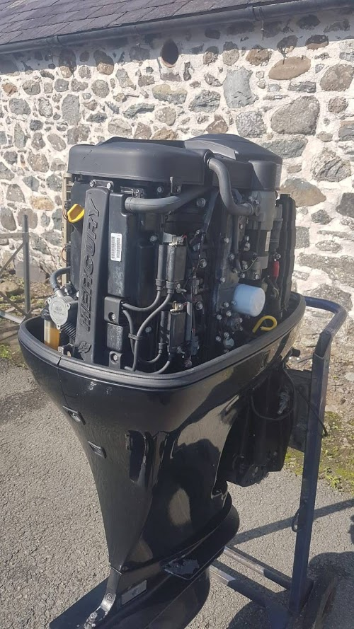 Used Mariner 115hp EFI 4 Stroke Outboard Engine Electric Start, Remote  Control, Long Shaft Engine