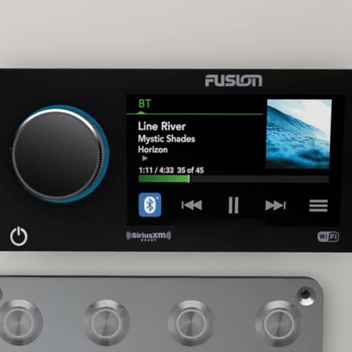 FUSION MS-RA 770 and 2 Speakers